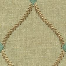 Brown/Blue Diamond Decorator Fabric by Kravet