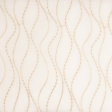 Caramel Embroidery Decorator Fabric by Fabricut