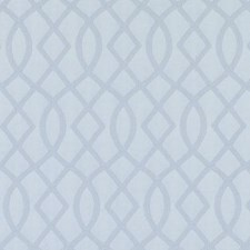 Baby Blue Geometric Decorator Fabric by Duralee