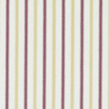 Gold/Red Stripe Decorator Fabric by Duralee