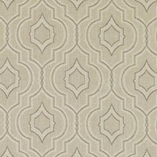 Linen Medallion Decorator Fabric by Duralee