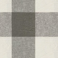 Black/White/Grey Plaid Decorator Fabric by Kravet