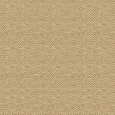 Beige/Taupe/Gold Herringbone Decorator Fabric by Kravet