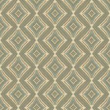 Taupe/Grey/White Diamond Decorator Fabric by Kravet