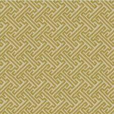Celery/Ivory Modern Decorator Fabric by Kravet