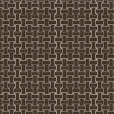 Walnut Geometric Decorator Fabric by Kravet