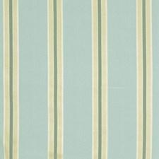 Teal Stripes Decorator Fabric by Fabricut