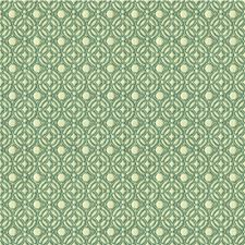 White/Light Blue Geometric Decorator Fabric by Kravet
