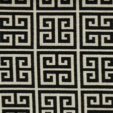 Licorice Geometric Decorator Fabric by Kravet