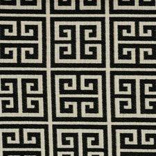 Licorice Geometric Decorator Fabric by Kravet