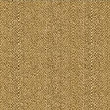 Brown/Beige Herringbone Decorator Fabric by Kravet