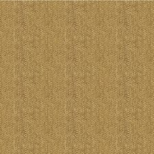 Brown/Beige Herringbone Decorator Fabric by Kravet