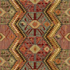Red/Blue/Green Ethnic Decorator Fabric by Kravet