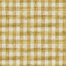 Gold/Ivory Check Decorator Fabric by Kravet