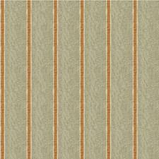 Grey/Orange/White Stripes Decorator Fabric by Kravet