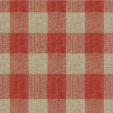 Pink/Beige Check Decorator Fabric by Kravet