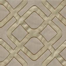 Taupe Geometric Decorator Fabric by Kravet