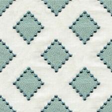 Turquoise Diamond Decorator Fabric by Kravet