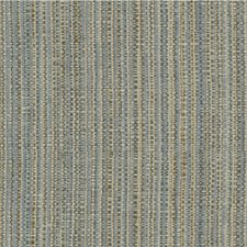 Light Blue/Brown/Beige Stripes Decorator Fabric by Kravet