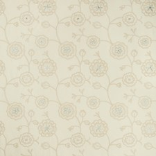 Beige/Ivory/Grey Metallic Decorator Fabric by Kravet