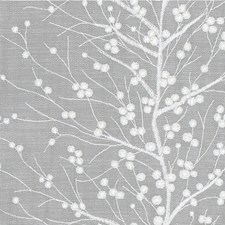 Light Blue/White Botanical Decorator Fabric by Kravet