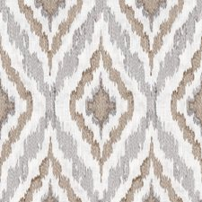Beige/Grey Geometric Decorator Fabric by Kravet