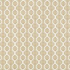Brown/Ivory Geometric Decorator Fabric by Kravet