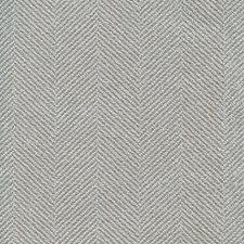 Light Grey/Light Blue Herringbone Decorator Fabric by Kravet