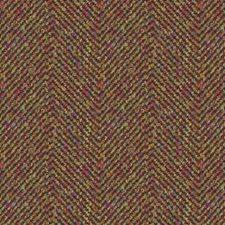 Mulberry Herringbone Decorator Fabric by Kravet