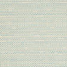White/Light Blue/Grey Metallic Decorator Fabric by Kravet