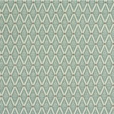 Light Green/White/Taupe Diamond Decorator Fabric by Kravet
