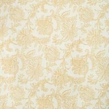 Beige/Camel Botanical Decorator Fabric by Kravet