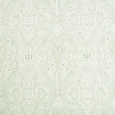 Sage/Beige/Light Blue Paisley Decorator Fabric by Kravet