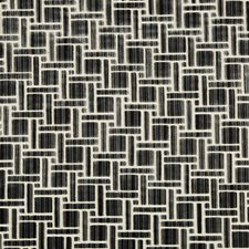 Anthracite Geometric Decorator Fabric by Kravet