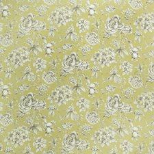Celery Floral Decorator Fabric by Fabricut