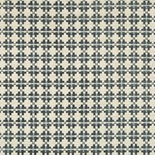 Steel Geometric Decorator Fabric by Kravet