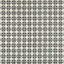 Steel Geometric Decorator Fabric by Kravet