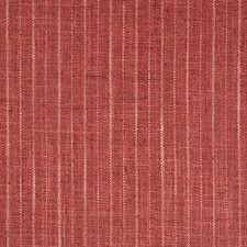 Red/Beige Stripes Decorator Fabric by Kravet
