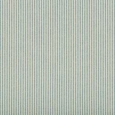 Light Blue/Beige Stripes Decorator Fabric by Kravet
