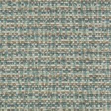 Turquoise/Slate/Beige Ottoman Decorator Fabric by Kravet