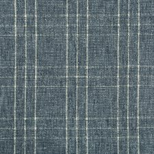 Blue/Light Blue/White Plaid Decorator Fabric by Kravet