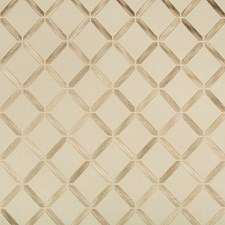 Beige/Camel Diamond Decorator Fabric by Kravet