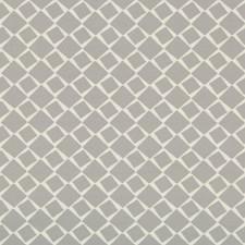 Grey Geometric Decorator Fabric by Kravet
