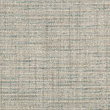 Light Grey/Teal/Ivory Solids Decorator Fabric by Kravet