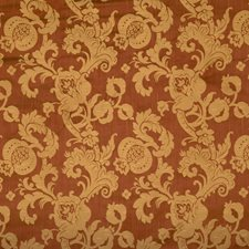 Vermillion Scrollwork Decorator Fabric by Fabricut
