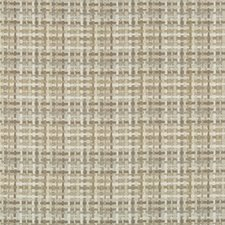 Beige/Wheat Check Decorator Fabric by Kravet