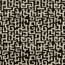 Black/White Ethnic Decorator Fabric by Kravet
