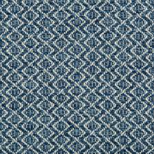 Indigo/Blue/White Small Scales Decorator Fabric by Kravet