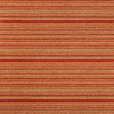 Orange/Yellow/Ivory Stripes Decorator Fabric by Kravet