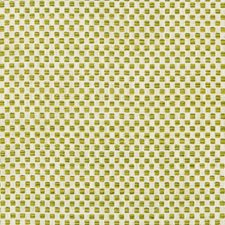 White/Green/Yellow Small Scale Decorator Fabric by Kravet